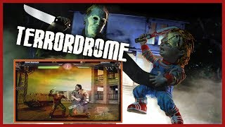 QUICK GAME-PLAY! TERRORDROME | PC | ARCADE GAMING