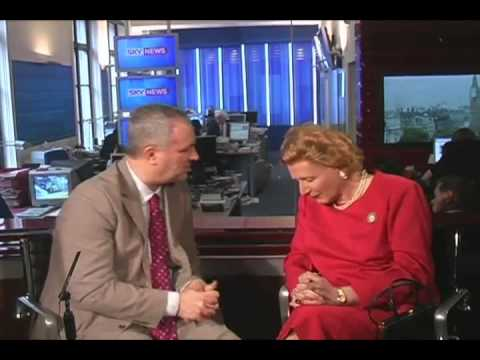 Margaret Thatcher last interview