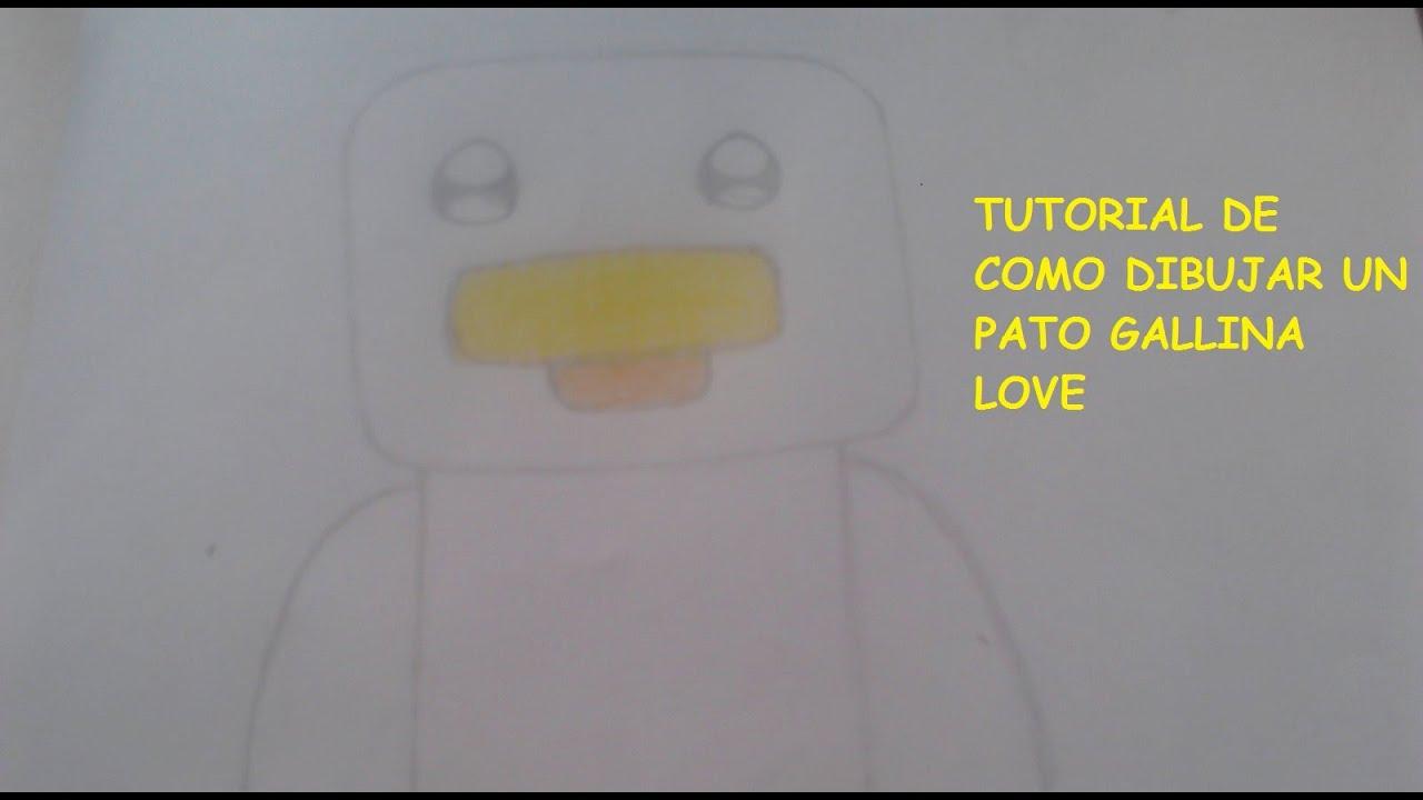 Dibujando un Pato Gallina Love   YouTube