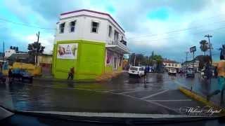 Mandeville  Jamaica after a rainy day part 3