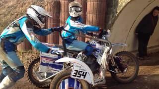 Incredible 700cc 2-stroke single cylinder engine sound