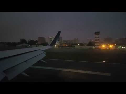 Landing in Guatemala city from LAX  (Delta Boeing 757-200 OW)