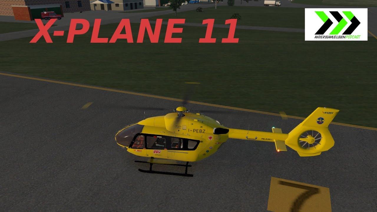 X-PLANE 11 - EC145