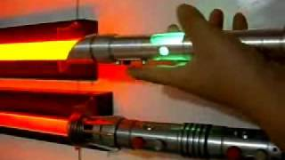 New Hasbro sound card test in my saber