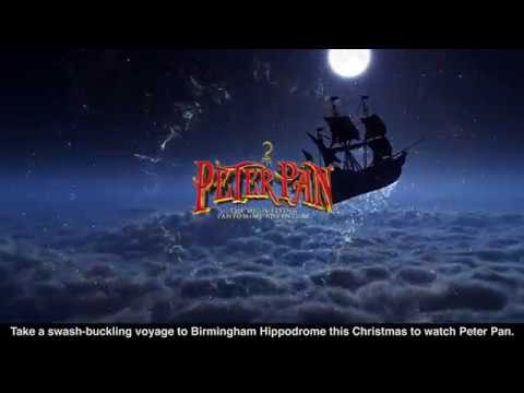 Peter Pan comes to Birmingham Hippodrome