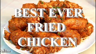 Best Ever Sunday Dinner Fry Chicken How To Marinade From  Chef Ricardo Cooking