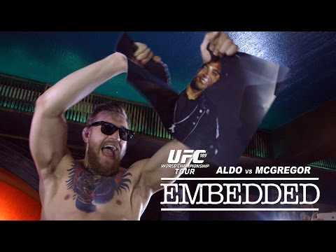 UFC 189 World Championship Tour Embedded: Vlog Series - Episode 1