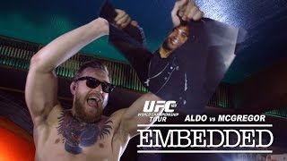 UFC 189 World Championship Tour Embedded: Vlog Series - Episode 1