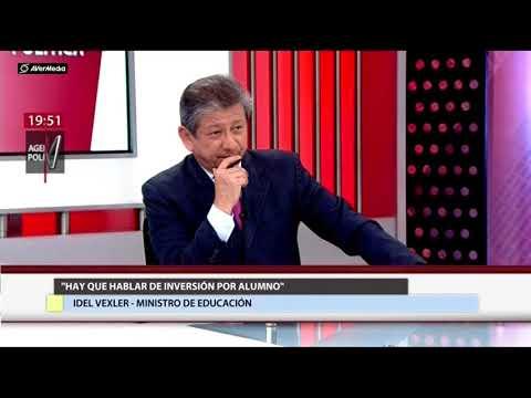 Ministro Idel Vexler en Agenda Política (Canal N)