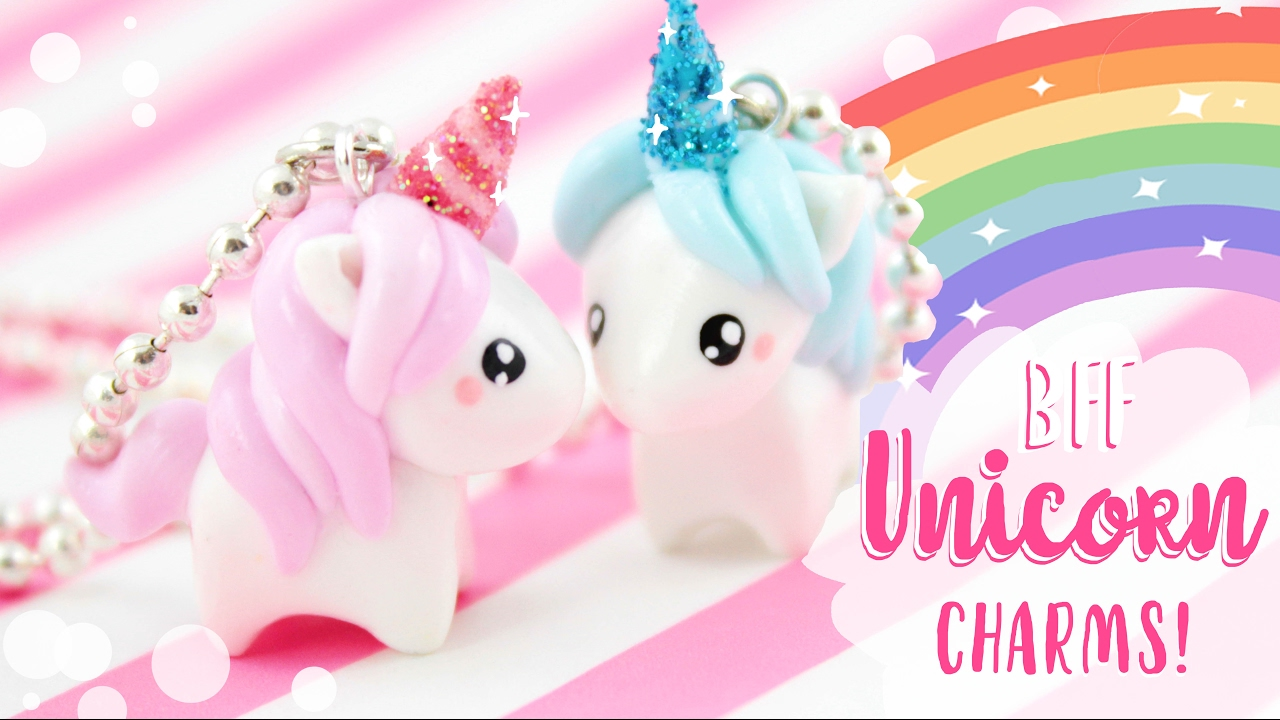 Bff Unicorn Diy Charms Kawaii Friday Youtube