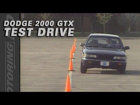 Dodge 2000 GTX - Test Drive Throwback