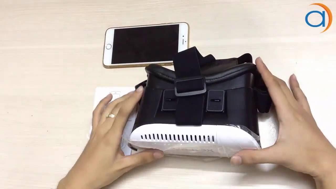 Khám Phá Kính 3D Thực Tế Ảo – Kính 3D Cho Điện Thoại – Asun