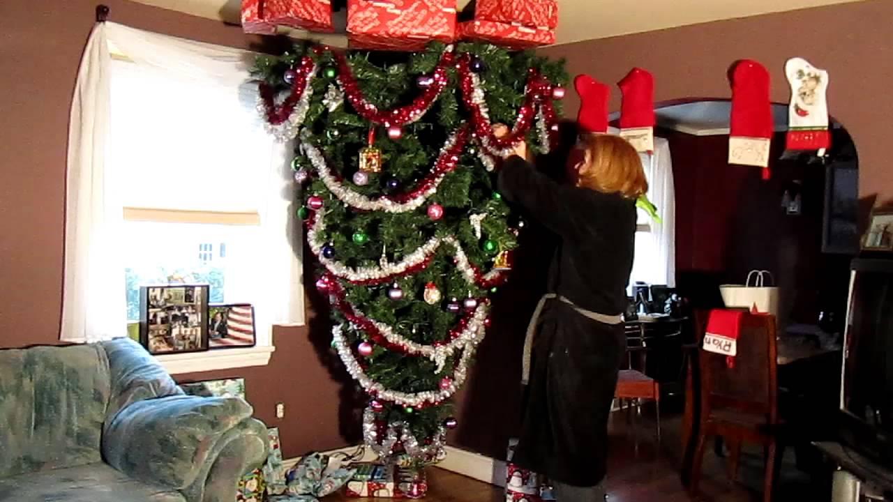Rawlins Upside Down Christmas Tree.MOV