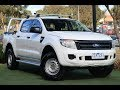 B7092 - 2012 Ford Ranger XL Hi-Rider PX Auto 4x2 Double Cab Walkaround Video