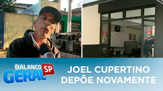 Joel Cupertino depõe novamente na delegacia sobre assassinato de Rafael Miguel