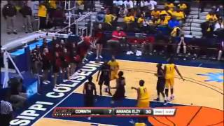 Maurice Dunlap swishes another ridiculously deep three-pointer for Amanda Elzy.