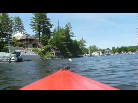 Kayaking on Saratoga Lake