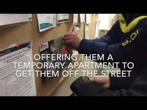 Volunteers help homeless veterans get back on their feet