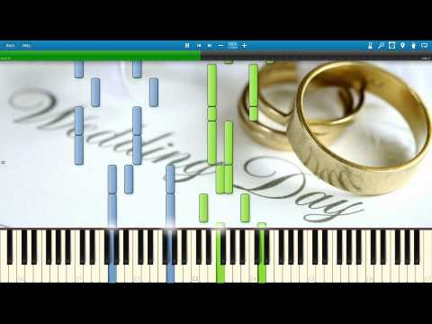 Mendelssohn - Wedding March - Synthesia Piano Solo Tutorial