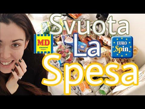 MAXI SPESA MD ED EUROSPIN SVUOTO LA SPESA DELLA SETTIMANA