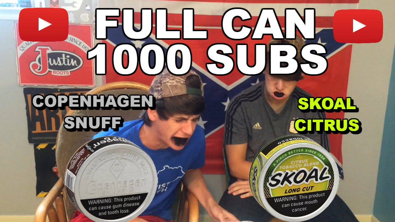 full can copenhagen snuff