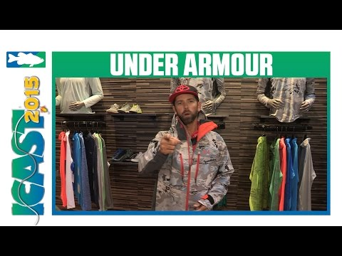 Under Armour Ridge Reaper Hydro Rain Jacket With  Michael Iaconelli | ICAST 2015