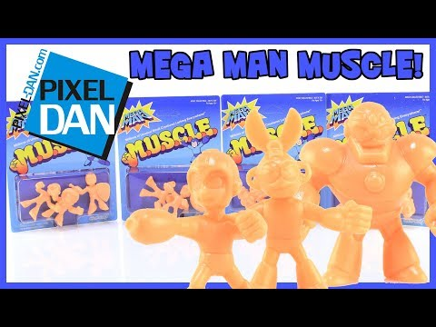 Mega Man M.U.S.C.L.E. Mini Figures Super7 Video Review