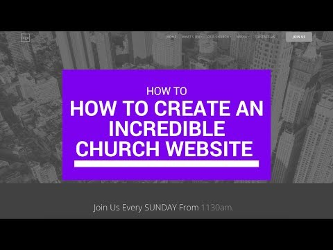 How to Create an Incredible Church Website with WordPress Online