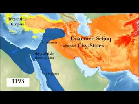 1300 Years of Islamic History in 3 Minutes