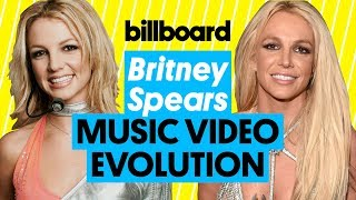 Britney Spears Music Video Evolution: '...Baby One More Time' to 'Slumber Party' | Billboard