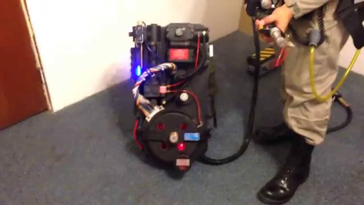 Ghostbusters Proton Pack & Ghost Trap Demo with E-Cig
