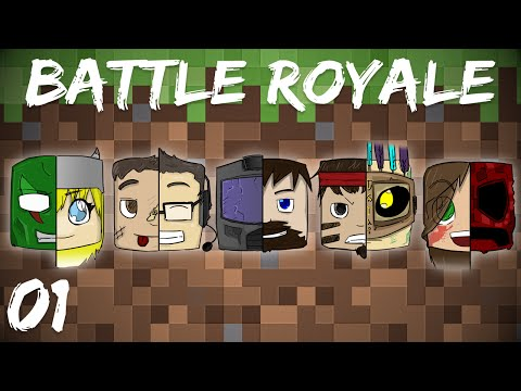 Minecraft Battle Royale 1/2 First Out The Door poster