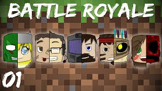 Minecraft Battle Royale 1/2 First Out The Door
