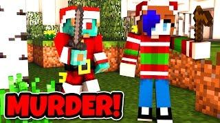 GET HER FIRST!   Minecraft Murder Mystery w/ RadioJH Games!