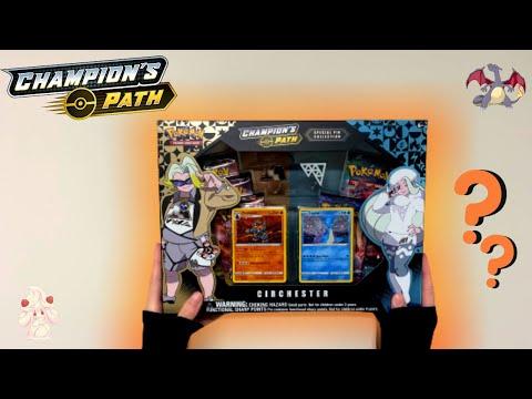Opening CHAMPIONS PATH Circhester Box!! | Pokemon Unboxing |