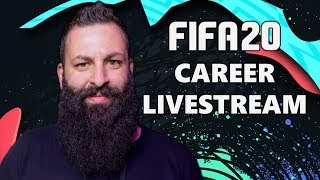 🔴 FIFA 20 CAREER LIVESTREAM | TechItSerious