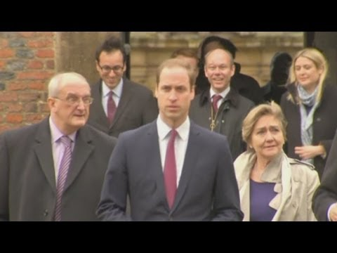 Prince William begins course at Cambridge University