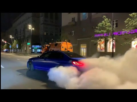 Bmw M5 F90 850+Hp - Most insane drift & Burnout ever