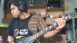 Burgerkill - Tiga Titik Hitam (guitar cover with solo)