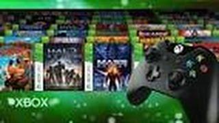 Rétrocompatiblité Xbox 360 et Xbox One (Jeux et Sauvegarde)