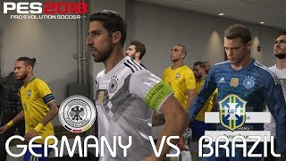 PES 2018 (PC) Germany v Brazil @ Allianz Arena | 2018 FIFA World Cup Jerseys | 1080P 60FPS