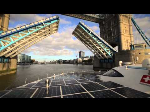 PlanetSolar arrives in London - DeepWater expedition