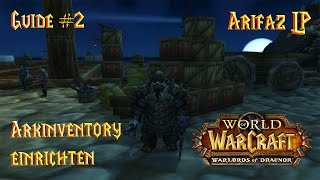 Addon Guide WoW - Arkinventory Guide