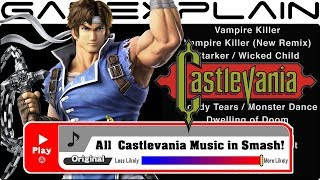 Identifying All Castlevania Music in Super Smash Bros. Ultimate (Game Origin & Music Clips!)
