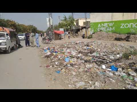 islamabad style garbage deposit and public transport 2021