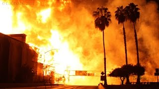 L.A. Construction Site Inferno / LAFD / Part 1 of 2 / Da Vinci Apartments Fire