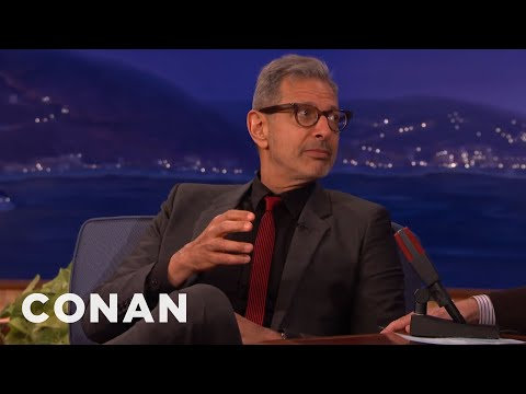 Jeff Goldblum and Andy Richter discuss Circumcision - CONAN on TBS