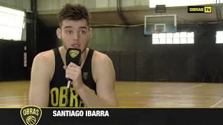 Santiago Ibarra - Obras Basket (04-08-2017)