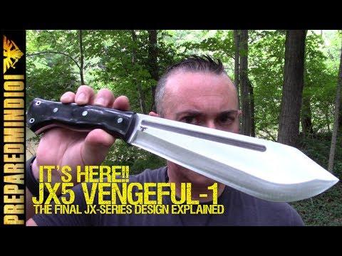 JX5 Vengeful-1 (Bark River): First Look/Design Explained  - Preparedmind101