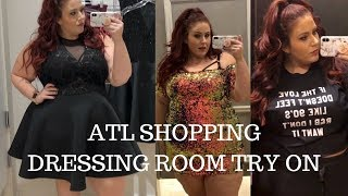 Plus Size Dressing Room Try On- Torrid, Charlotte Russe, Rue 21, Fashion to Figure